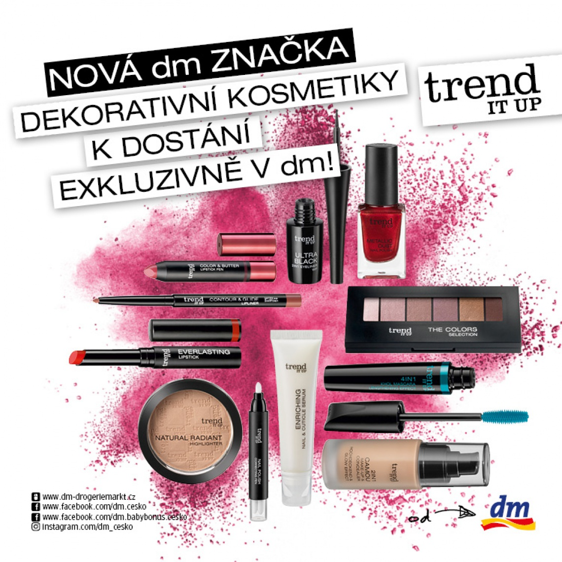 Nová dm značka trend IT UP!