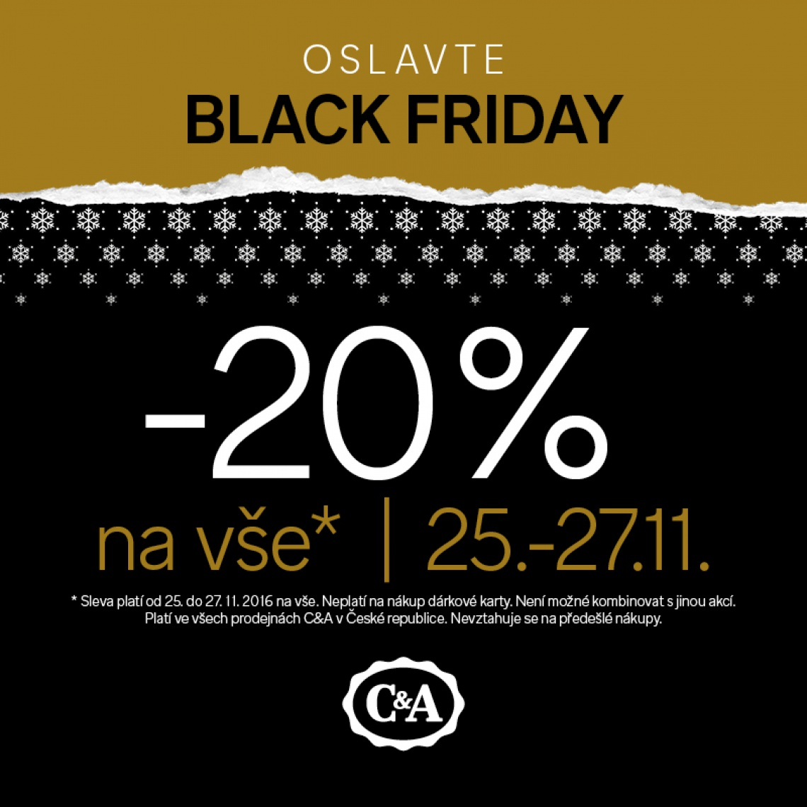 Oslavte Black Friday