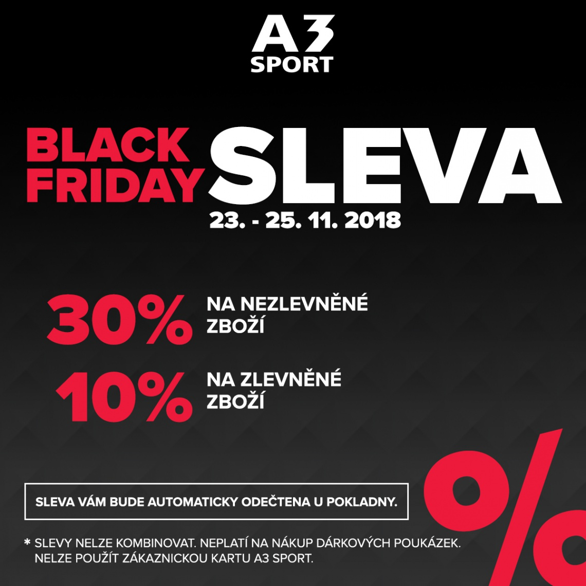 Jedeme BLACK FRIDAY!
