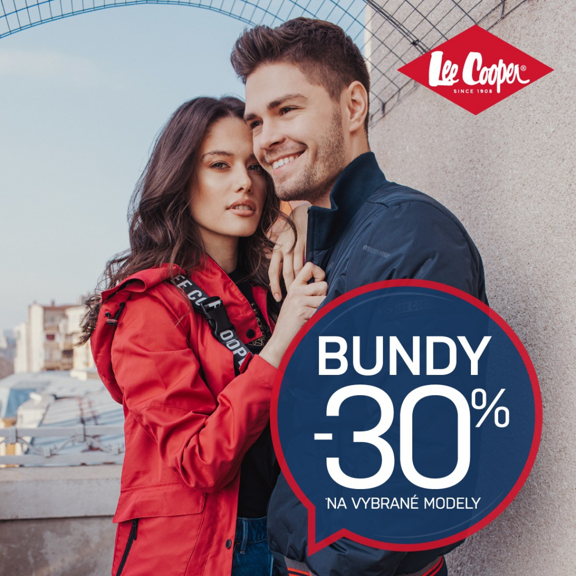 -30 % na bundy Lee Cooper